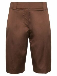 Prada knee-length shorts - Brown