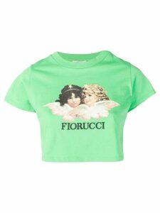 Fiorucci Vintage Angels crop T-shirt - Green