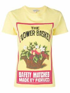 Fiorucci Bianca Towel print T-shirt - Yellow