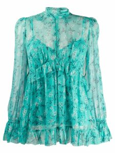 Zimmermann floral print blouse - Green