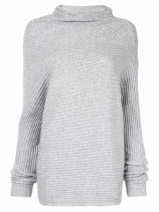 CAMILLA AND MARC Kaia asymmetric turtleneck - Grey