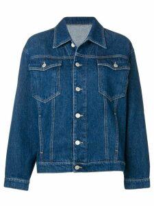 Chiara Ferragni signature wink applique denim jacket - SM000 JEANS