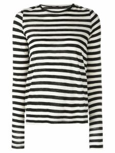 Proenza Schouler striped long-sleeved T-shirt - White