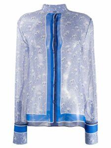 Ermanno Scervino floral-print shirt - Blue