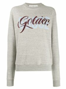 Golden Goose logo print sweatshirt - Grey
