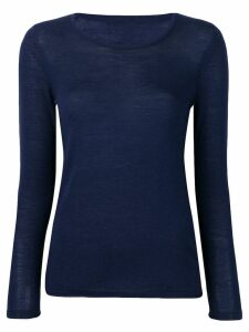Sottomettimi slim-fit pullover - Blue