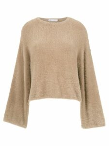 Nk long sleeved top - NEUTRALS