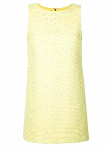 Alice+Olivia Clyde shift dress - Yellow