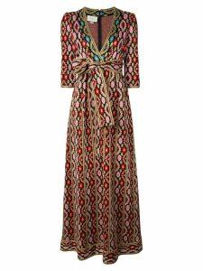 Gucci printed maxi dress - Multicolour