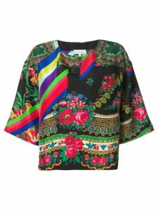 Pierre-Louis Mascia floral print blouse - Black