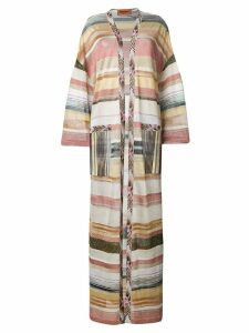 Missoni long striped cardigan - PINK
