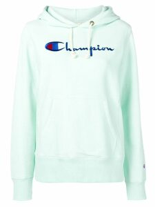 Champion embroidered logo hoodie - Green