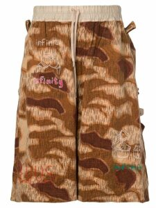 Bernhard Willhelm Venus shorts - Brown