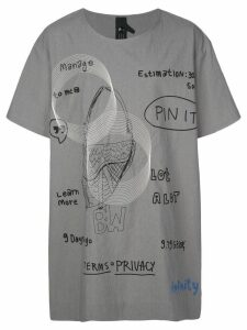 Bernhard Willhelm oversized T-shirt - Grey