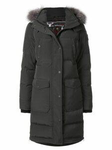 Moose Knuckles hooded padded coat - Black