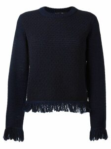 Proenza Schouler fringed jumper - Blue