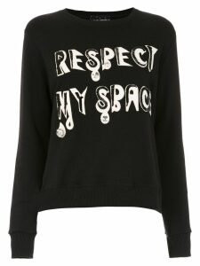 Andrea Bogosian embroidered sweatshirt - Black