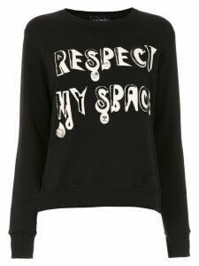 Andrea Bogosian embroidered sweatshirt - Black