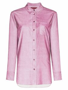 Sies Marjan iridescent shirt - PURPLE