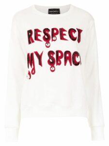 Andrea Bogosian embroidered sweatshirt - White