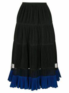 Toga pleated skirt - Black