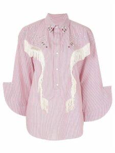 Toga fringed shirt - White