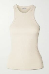 Miguelina - Mia Scalloped Cotton Guipure Lace Robe - Beige