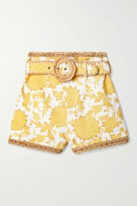 Jacquemus - Siena Embroidered Woven Blouse - White