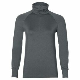Asics  Thermopolis LS 12 Zip  women's Sweatshirt in Grey
