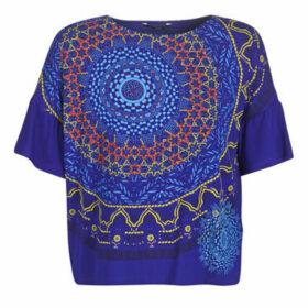 Desigual  LIVERPOOL  women's T shirt in Blue
