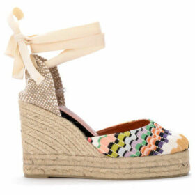 Castaner  by Missoni Carina multicolor sandal with wedge.  women's Shoes (Pumps / Ballerinas) in Other