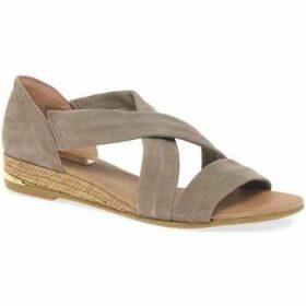 Pinaz  Zara Ladies Espadrilles  women's Sandals in Beige
