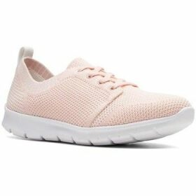 Clarks  Step Allenasun  women's Shoes (Trainers) in Pink