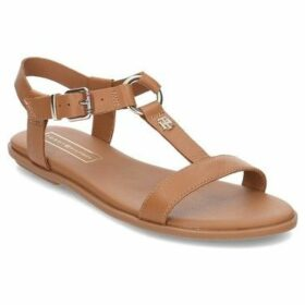 Tommy Hilfiger  Elevated Flat  women's Sandals in Brown