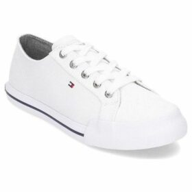 Tommy Hilfiger  Essential Sneaker  women's Shoes (Trainers) in White