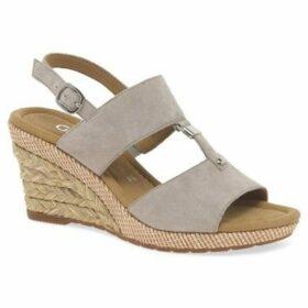 Gabor  Keira Womens Wedge Heel Sandals  women's Sandals in Beige