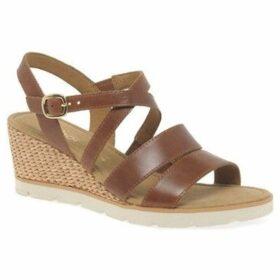 Gabor  Protect Womens Wedge Heel Sandals  women's Sandals in Brown