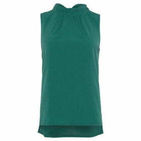 French Connection  Sleeveless straight dress  women's Dress in Green
