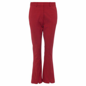 French Connection  Loose pants  women's Trousers in Red