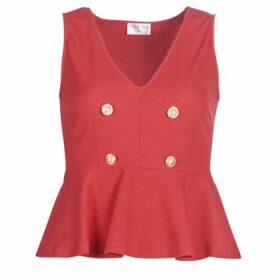 Moony Mood  KITTILE  women's Blouse in Red
