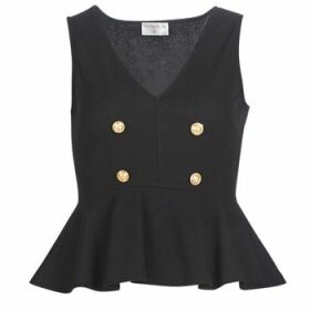 Moony Mood  KILLE  women's Blouse in Black