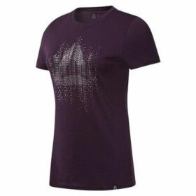 Reebok Sport  GS Motion Dot Crew  women's T shirt in Black
