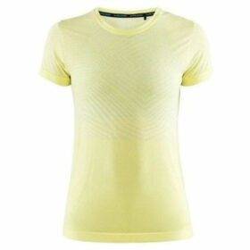 Craft  Cool Comfort  women's T shirt in Yellow