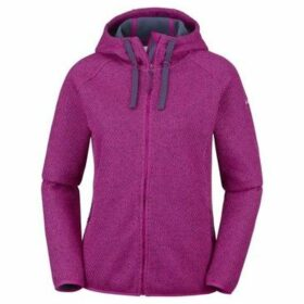 Columbia  Pacific Point  women's Sweatshirt in Purple