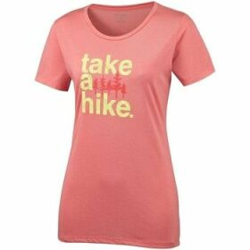Columbia  Outdoor Elements Iii  women's T shirt in Pink