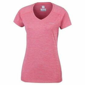Columbia  Zero Rules  women's T shirt in Pink