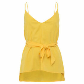 French Connection  Flowing camper  women's Blouse in Yellow