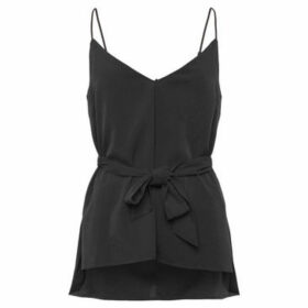 French Connection  Flowing camper  women's Blouse in Black