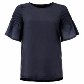 French Connection  Blouse Crew neck Short sleeves  women's Blouse in Blue