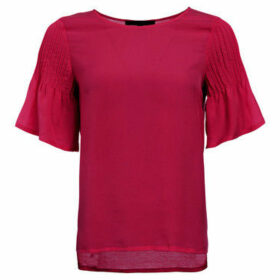 French Connection  Blouse Crew neck Short sleeves  women's Blouse in Pink